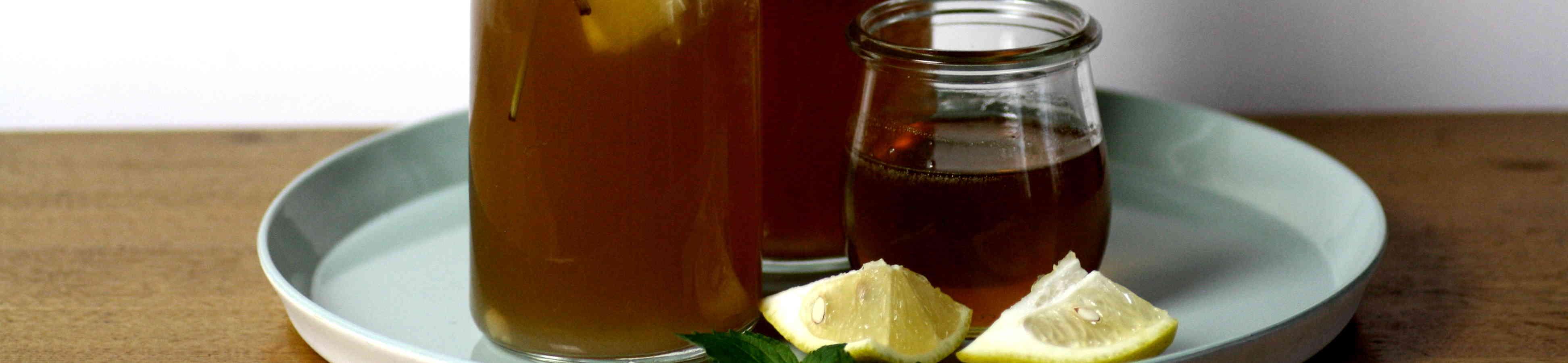 Honig Zitronen Limonade Thumbnail