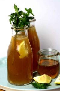 Honig Zitronen Limonade