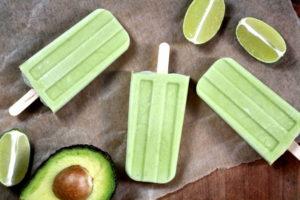 Avocado Kokos Limetten Eis Thumbnail