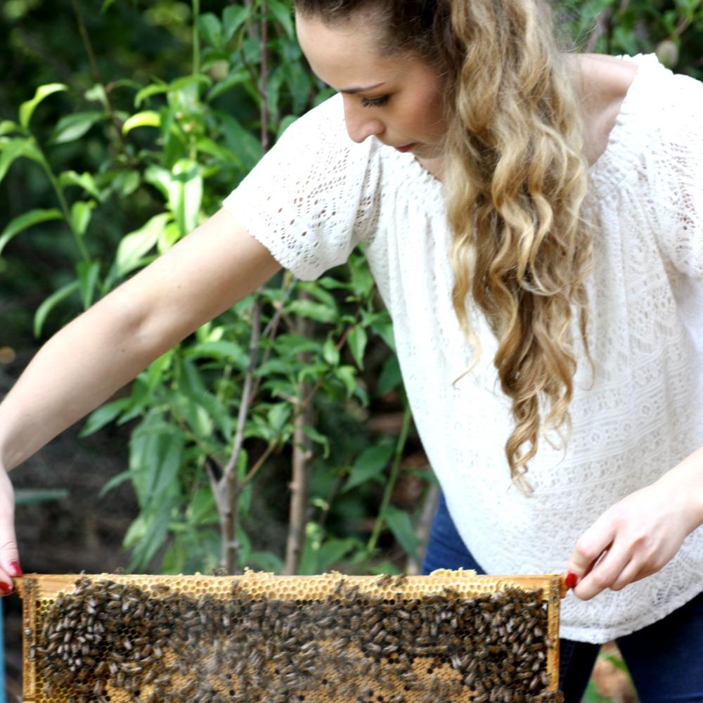Bienenjahr Imkerin